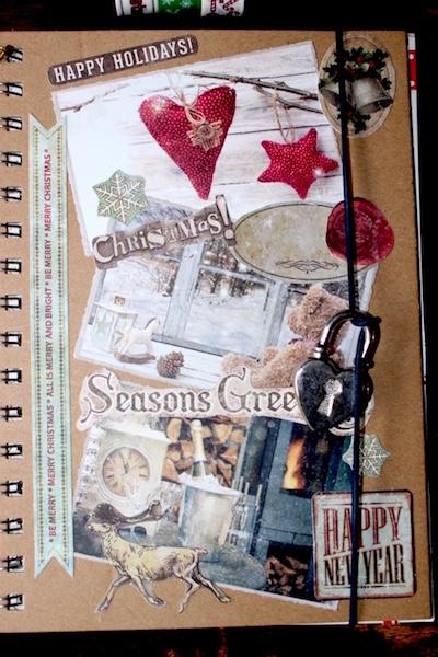 Kerst notitieboek