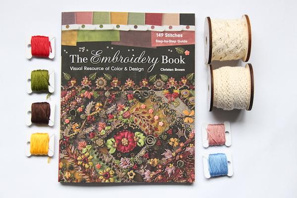 Embroidery Book borduren boek