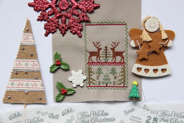 ornament borduren