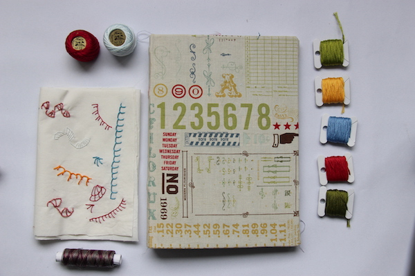 Borduren Junk Journal