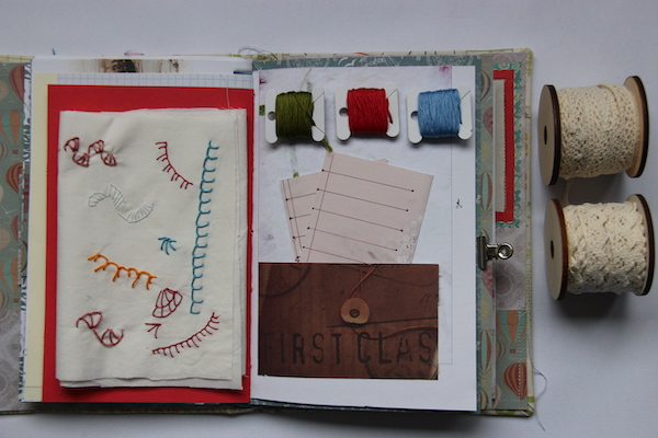 borduur junk journal