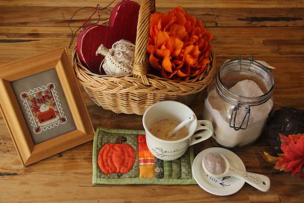 herfst koffie kleuren hygge